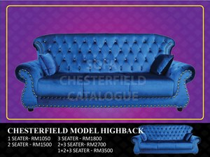 (HQ) CHESTERFIELD MODEL HIGH BACK