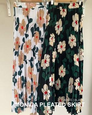 Monica pleated skirt
