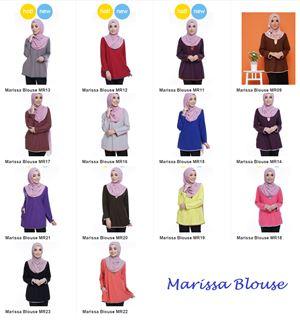 Pakej Combo 3 Marissa Blouse bermula RM100
