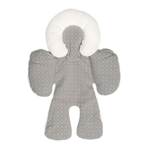 Reversible Head and  Body Support - Grey