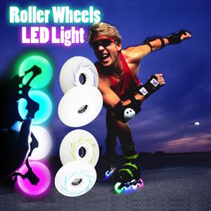 LED Light Roller Wheels (per pc)