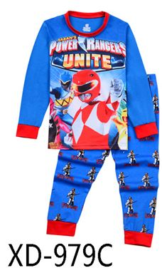 XD-979C 'Power Ranger' KIDS PYJAMAS