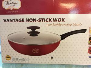 Vantage Non-stick Wok without IH 30cm (DF-CW30)