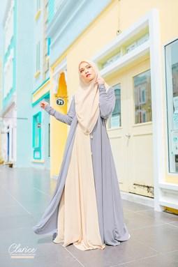 Clarice Ironless Abaya Cardigan