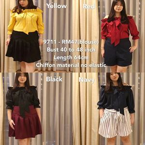 9711 Ready Stock *Bust 40 to 48 inch/ 101-121cm