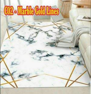 C02 - Marble Gold Lines