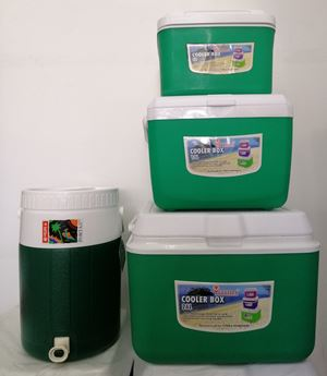 SET COOLER  PORTA 4PCS - GREEN