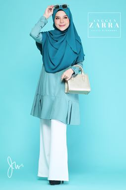ANGGUN ZARRA (DIAMOND BLUE)