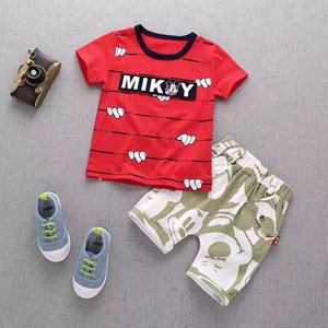 MICKEY RED BOY SET  ( SZ 80-110 )