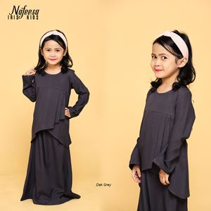 NAFEESA IRIS KIDS DARK GREY