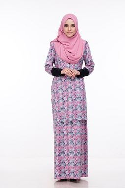 Baju Kurung Melissa (KM106) - Size XS, S, M ONLY available