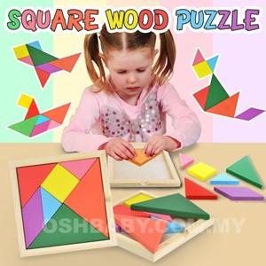 Square Wood Puzzle