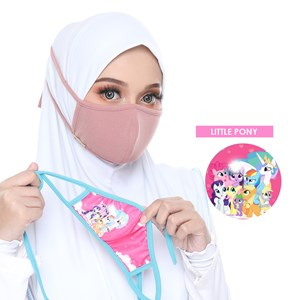 FACEMASK KIDS (LITTLE PONY)