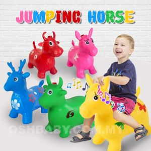 Inflatable Kids Ride Jumping Animal