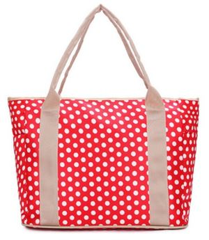 Essential Mama Bag (Red Dots)