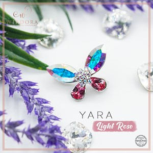Brooch Yara Aurora Light Rose