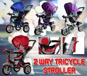 2 WAY TRICYLE STROLLER