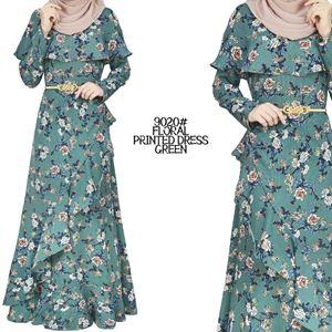 9020# FLORAL DRESS