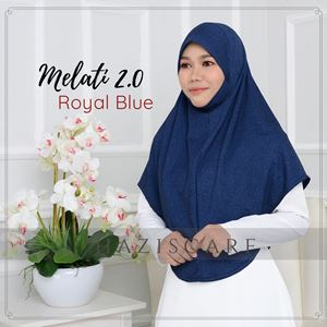 Melati in Royal Blue