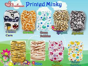 Beilesen Minky Cloth Diaper(Intro price)