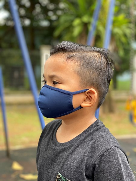 LAWARNI FACE MASK KIDS EARLOOP