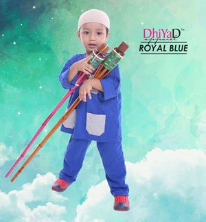 CLEARANCE KURTA DHIYAD (ROYAL BLUE)