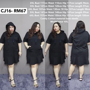 CJ16 Ready Stock  * Bust117-157cm