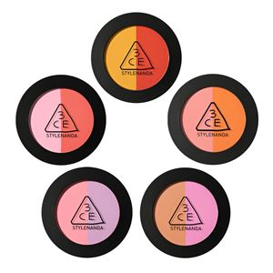 3CE Duo Color Face Blush  5.0G
