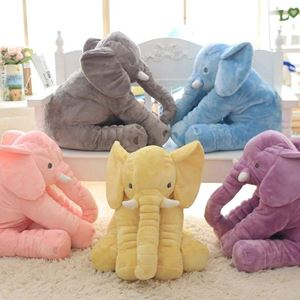 ELEPHANT PLUSH PILLOW ( WITH BLANKET )