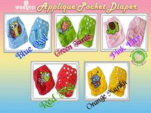 Weegro Applique Pocket