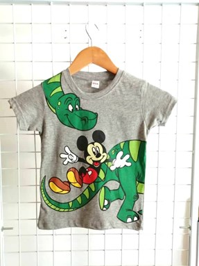 T-Shirt Short Sleeve Mickey 1: Size 1y-6y (1 - 6 tahun) QK