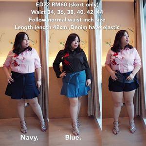 ED72  Ready Stock  *Waist inch - 34, 36,38,40,42,44  inch
