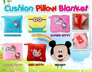 Cushion Pillow Blanket