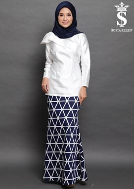 KURUNG FAITH ( BLUE )