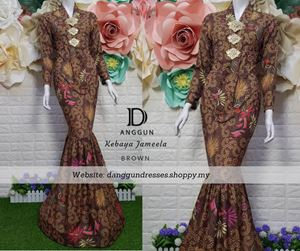 Kebaya Batik Jameela Brown