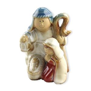 Porcelain Color - Glazed Nativity Stand