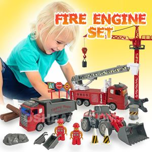SIMULATION FIRE ENGINE SET
