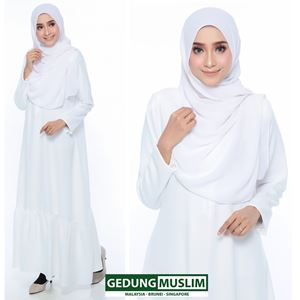 JUBAH JANNAH - OFFWHITE  COLOR