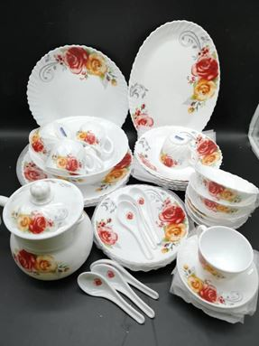 46pcs COREL-HG DINNER SET (CODE : 2197)
