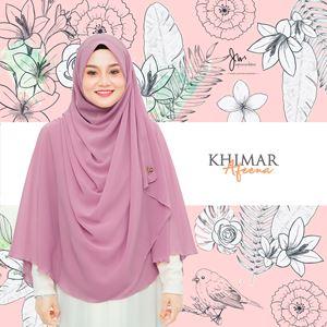 KHIMAR AFEENA 03 (Soft Purple)