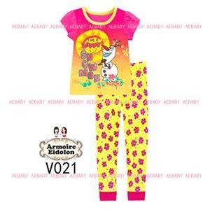 A&E Pyjamas - Frozen Snowman (2-7y)