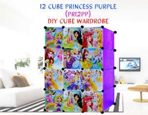 PRINCESS PURPLE 12C DIY WARDROBE (PR12PP)