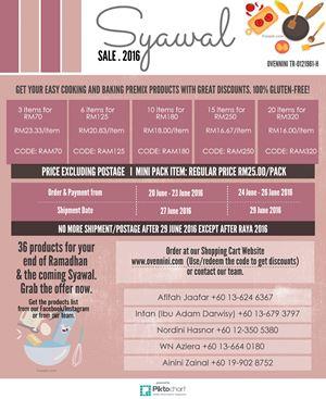 Ramadhan Promo Discount Codes.