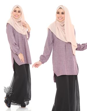 LUNA TUNIC - PURPLE