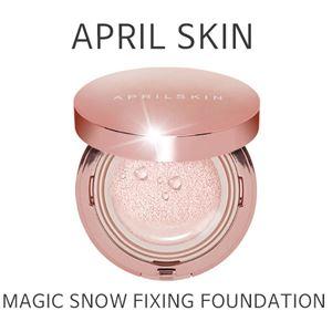APRIL SKIN : [PINK] Magic Snow Fixing Foundation