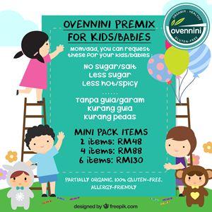 Kids/Babies Package (Mini Pack Items)