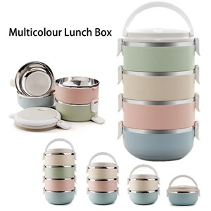 Stainless Steel Lunch Box 4 Layer