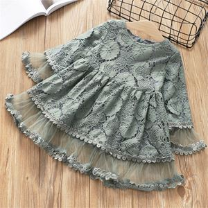 LACE ACASIA GREY  DRESS
