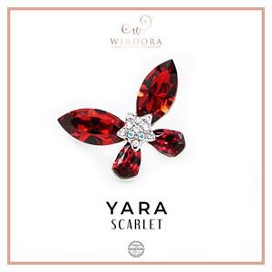 Brooch Yara Scarlet