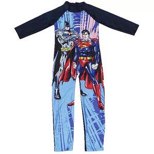Children's Swimming Suit ( BATMAN & SUPERMAN ) SZ 3Y-11Y )